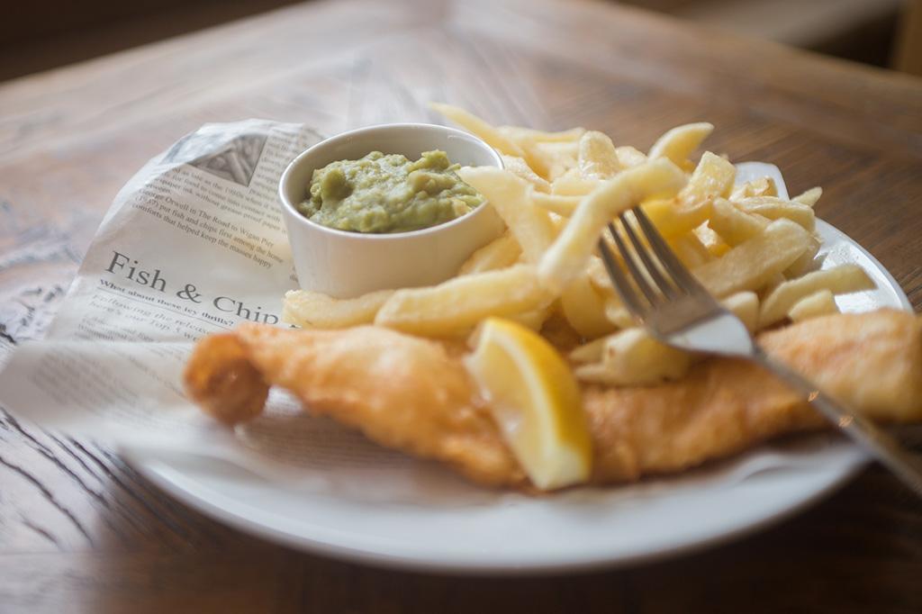 Lewis's Fish Restaurant Menu, Seahouses